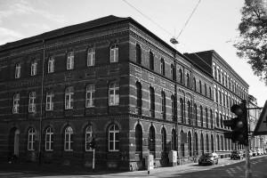 Geschäftsstelle im städtischen Gebäude Lewerentzstr. 106