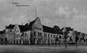 Husarenkaserne Krefeld um 1906
