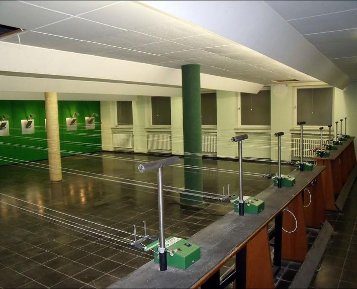 Schießsporthalle