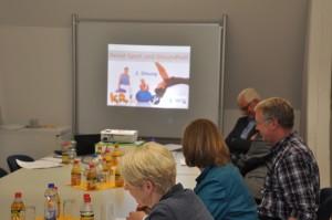 Foto1 der 2. Sitzung