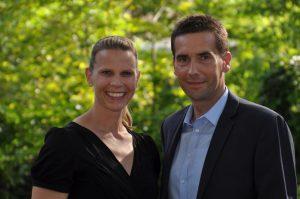 Anne Poleska-Urban und Jens Sattler stellten die Sportagentur vor