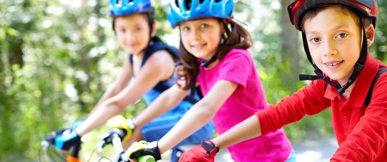 Fahrradparcours für Kinder