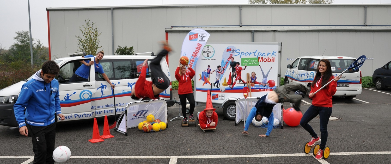 Sportpark Mobil vom SC Bayer 05 Uerdingen e.V.
